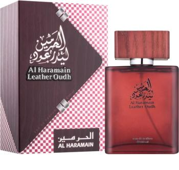 Al Haramain Leather Oudh Parfumovaná voda pre mužov 100 ml