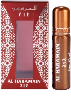 Al Haramain 212 huile parfumée pour femme (roll on) 10 ml