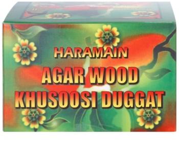 Al Haramain Agarwood Khusoosi Duggat kadzidło 50 g