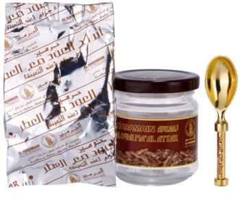 Al Haramain Abraaj Al Oudh Ma'Al Attak tamjan 50 g