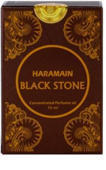 Al Haramain Black Stone parfümiertes Öl Herren 15 ml