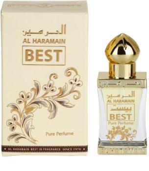 Al Haramain Best Αρωματικό λάδι unisex 12 μλ