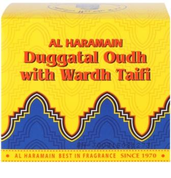 Al Haramain Duggatal Oudh with Wardh Taifi encens 50 g