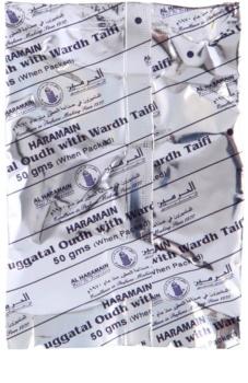 Al Haramain Duggatal Oudh with Wardh Taifi incenso 50 g