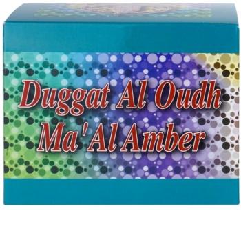 Al Haramain Duggat Al Oudh Ma'Al Amber tömjén 100 g