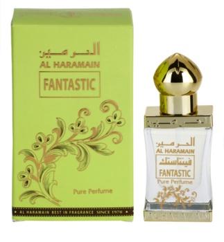 Al Haramain Fantastic parfümiertes Öl Unisex 12 ml