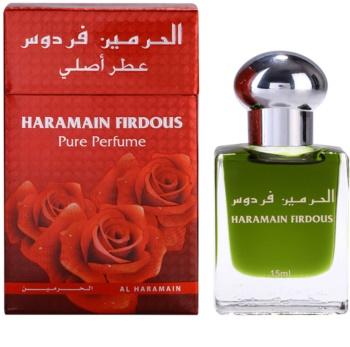 Al Haramain Firdous geparfumeerde olie  voor Mannen  (roll on) 15 ml