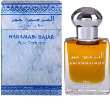 Al Haramain Haramain Hajar Αρωματικό λάδι unisex 15 μλ