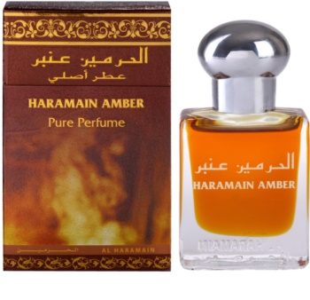 Al Haramain Haramain Amber óleo perfumado unissexo 15 ml
