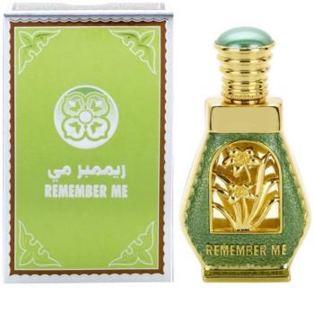 Al Haramain Remember Me profumo unisex 15 ml