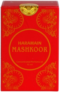 Al Haramain Mashkoor huile parfumée pour femme 15 ml