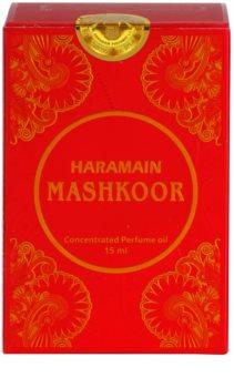 Al Haramain Mashkoor olio profumato per donna 15 ml