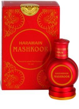 Al Haramain Mashkoor Αρωματικό λάδι για γυναίκες 15 μλ