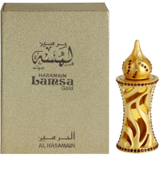 Al Haramain Lamsa Gold parfümiertes öl Unisex