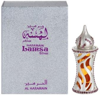 Al Haramain Lamsa Silver parfümiertes öl Unisex