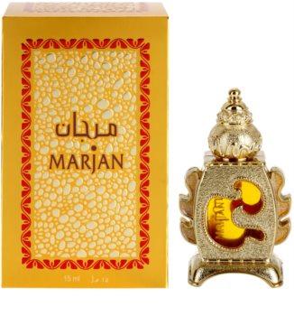 Al Haramain Marjan aceite perfumado unisex