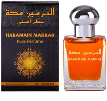 Al Haramain Makkah Αρωματικό λάδι unisex 15 μλ
