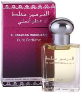 Al Haramain Mukhallath olio profumato unisex 15 ml