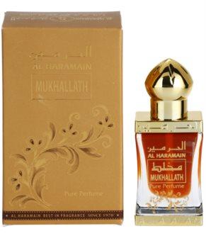 Al Haramain Mukhallath huile parfumée mixte 12 ml