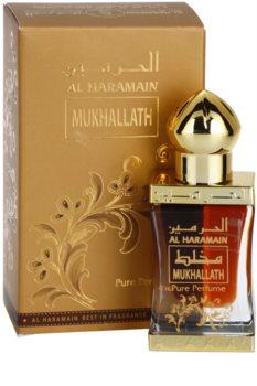 Al Haramain Mukhallath Αρωματικό λάδι unisex 12 μλ