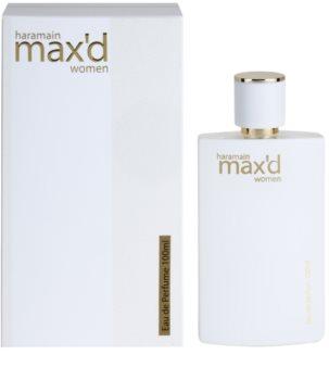 Al Haramain Max'd eau de parfum pour femme 100 ml