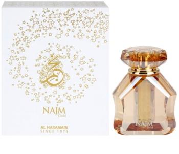 Al Haramain Najm Gold perfumed oil Unisex