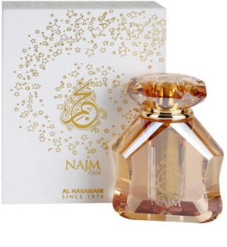 Al Haramain Najm Gold Perfumed Oil unisex 18 ml