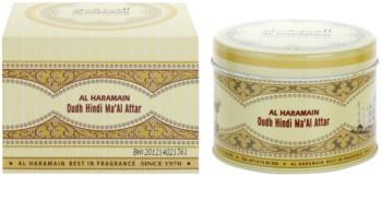 Al Haramain Oudh Hindi Ma'Al Attar kadzidło 50 g