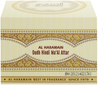 Al Haramain Oudh Hindi Ma'Al Attar Weihrauch 50 g