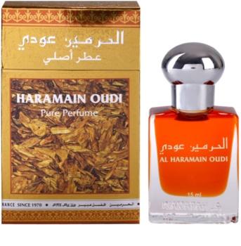 Al Haramain Oudi ulei parfumat unisex 15 ml