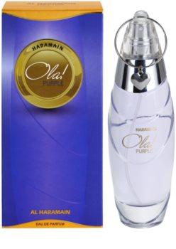 Al Haramain Ola! Purple eau de parfum pour femme 100 ml