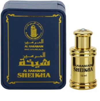Al Haramain Sheikha illatos olaj unisex 12 ml