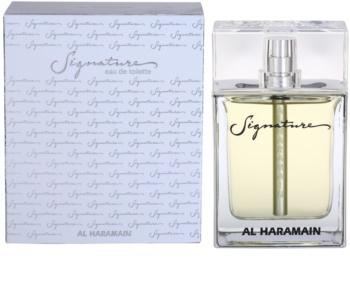 Al Haramain Signature eau de toilette férfiaknak 100 ml