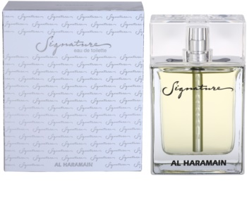 Al Haramain Signature eau de toillete για άντρες 100 μλ