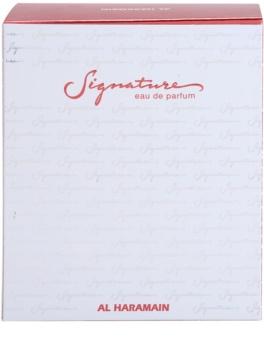 Al Haramain Signature Eau de Parfum para mulheres 100 ml