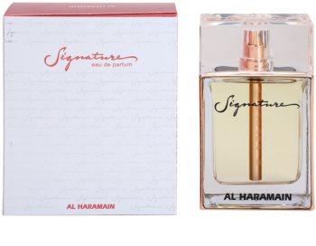 Al Haramain Signature Eau de Parfum για γυναίκες 100 μλ
