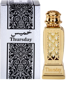 Al Haramain Thursday eau de parfum para mulheres 15 ml
