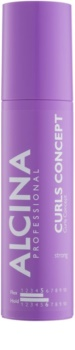 Alcina Strong gel de styling para fortalecer os cabelos naturalmente ondulados