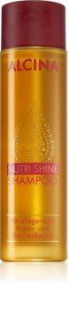 Alcina Nutri Shine shampoo nutriente con olio di argan