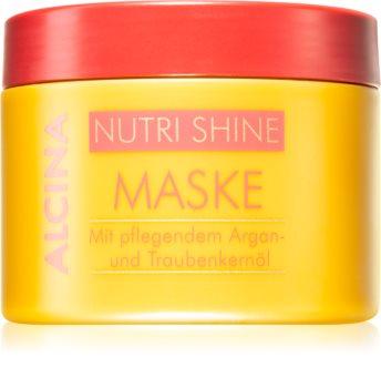Alcina Nutri Shine vyživující maska na vlasy s arganovým olejem