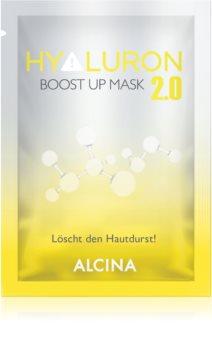 Alcina Hyaluron 2.0 máscara têxtil para endurecimento imediato da pele e alisamento