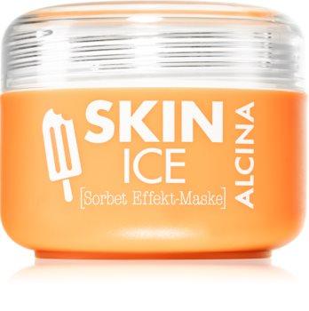 Alcina Skin Ice sorbetová pleťová maska s chladivým efektem