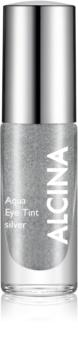 Alcina Summer Breeze Aqua Eye Tint dvofazna senčila za oči z metalnim učinkom