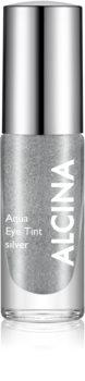 Alcina Summer Breeze Aqua Eye Tint fard de ochi în două faze cu efect metalic