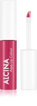 Alcina Summer Breeze Aqua Lip Colour dolgoobstojni sijaj za ustnice