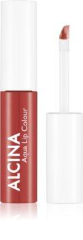 Alcina Summer Breeze Aqua Lip Colour Long-Lasting Lip Gloss
