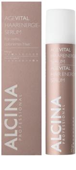 Alcina AgeVital energizujúce sérum pre farbené vlasy