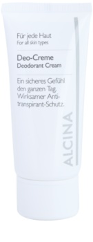 Alcina For All Skin Types déo crème
