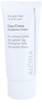 Alcina For All Skin Types desodorante en crema