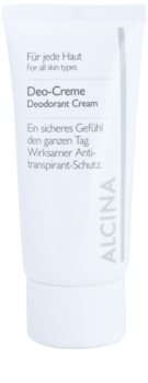 Alcina For All Skin Types desodorante en crema
